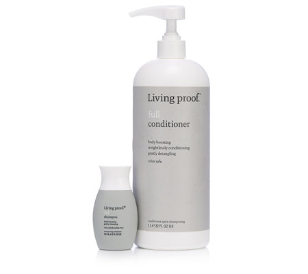 Living Proof Full 1 Litre Conditioner & 60ml Full Shampoo