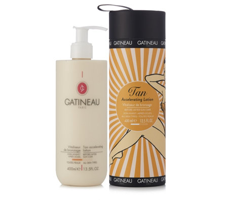 Gatineau 85th Anniversary Supersize Tan Accelerator 400ml