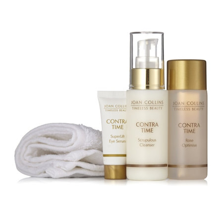 Joan Collins 3 Piece Polished & Toned Skincare Collection