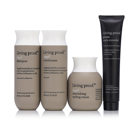 Living Proof No Frizz 4 Piece Discovery Haircare Collection