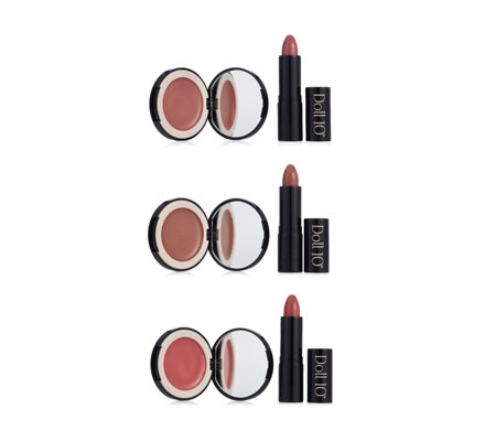 Doll 10 6 Piece Lip & Cheek Collection