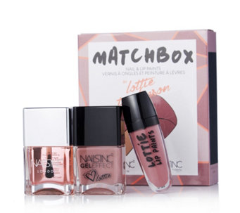 Nails Inc 3 Piece Match Box Collection - 229240