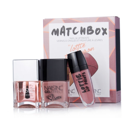 Nails Inc 3 Piece Match Box Collection
