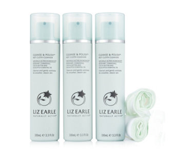 Liz Earle Cleanse and Polish 100ml Trio - 212641