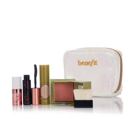 Benefit 4 Piece Dandelion I Pink I Love You with Bag