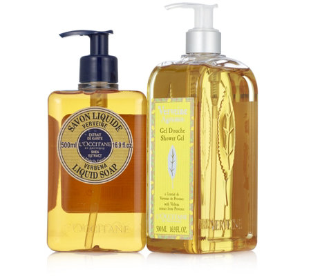 L'Occitane Liquid Soap & Shower Gel Duo