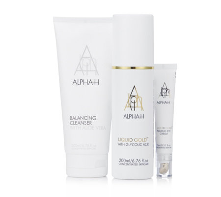 Alpha-H 3 Piece Liquid Gold Complexion Renewal Collection