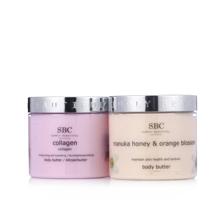 SBC 2 Piece Body Butter Collection  450ml