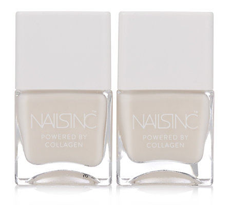 Nails Inc Collagen Ridge Filler Base Coat Duo