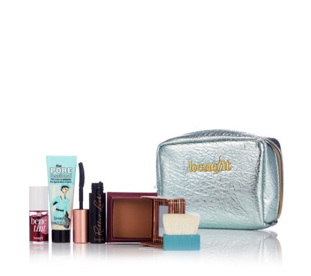 Benefit 4 Piece Work Kit Girl with Bag