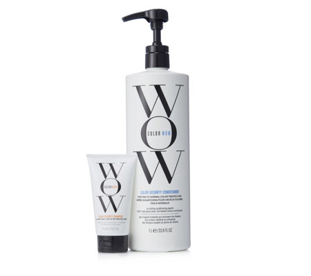 Color Wow 2 Piece Supersize Conditioner & Travel Shampoo