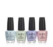 OPI 4 Piece Runway Pastels Collection - 235543