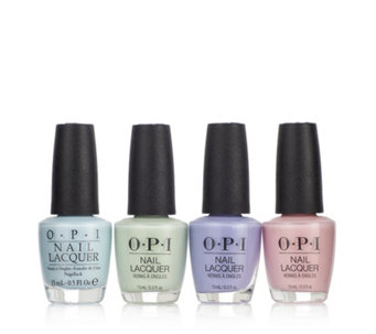 Opi 4 Piece Runway Pastels Collection 235543