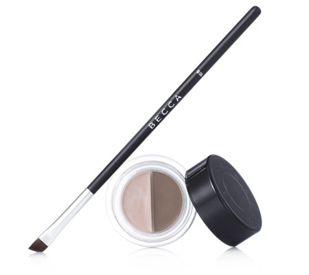 BECCA Brow Contour Mousse & Highlighter with Brush