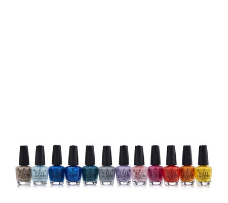 OPI 12 Piece Fiji Mini Collection