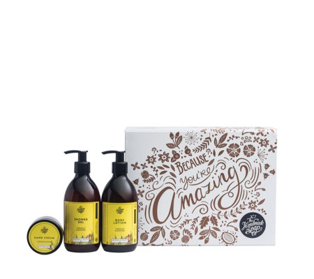 The Handmade Soap Company 3 Piece Gift Set