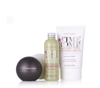 Lulu's Time Bomb 4 Piece Night Rescue Skincare Collection - 207847