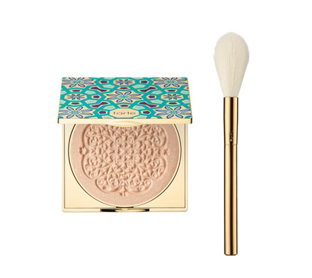Tarte Limited Edition Goddess Glow Highlighter & Brush