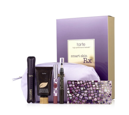 Tarte 5 Piece Smart Skin Rx Cosmetics Collection & Bag