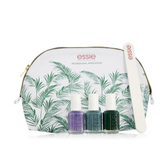 essie 3 Piece Spring Bundle Nailcare Collection & Bag - 218550