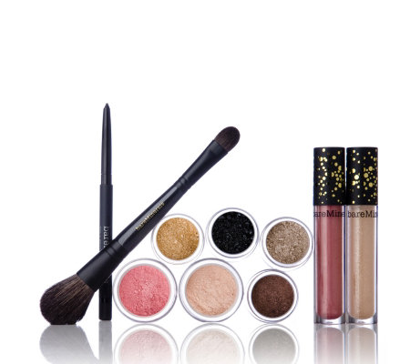 Bare Escentuals 9 Piece Shimmer & Shine Collection