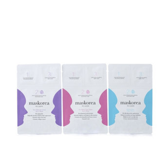 Maskorea Set of 3 Beauty Masks - 232450
