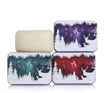 Arran Sense of Scotland 3 Piece Soap in a Tin Collection - 233650