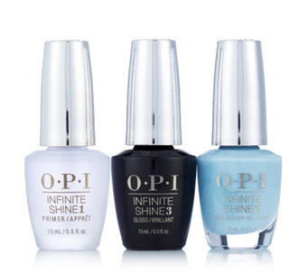 OPI 4 Piece Breakfast at Tiffanys Infinite Shine Nail Collection - 225851