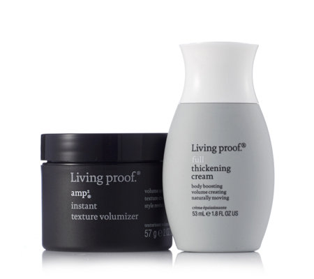 Living Proof 2 Piece Amp Instant Hair Texturizer & Thickening Cream