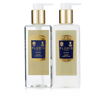 Floris 2 Piece Cefiro Luxury Hand Wash & Lotion 250ml