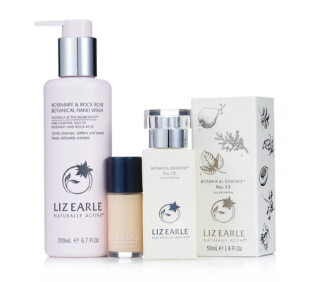 The Liz Earle TSV happening this weekend is for 'The Ultimate Botanical Beauty Gift'. Post sponsored by Liz Earle. The Ultimate Botanical Beauty Gift includes: NEW & EXCLUSIVE TO QVC: Rosemary & Rock Rose Botanical Handwash (ml) Rosemary & Rock Rose Botanical Hand Repair (50ml).