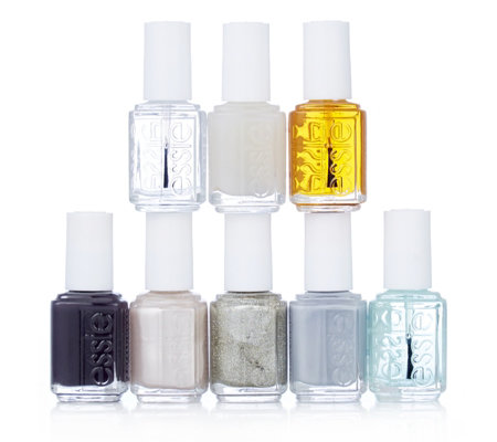 Essie 8 Piece Colour Collection