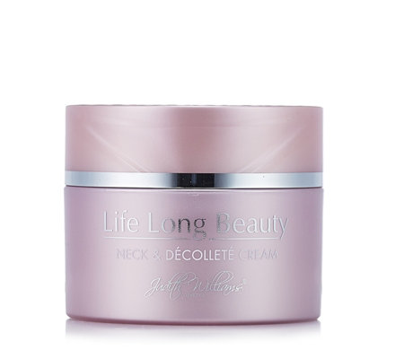 Judith Williams Life Long Beauty Neck & Decollete Cream 100ml