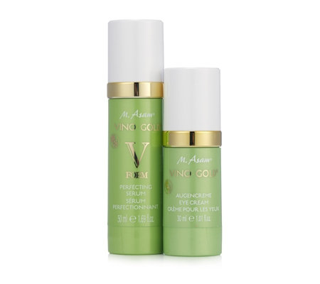 M. Asam Vino Gold Eye Cream 30ml & V-Form Perfecting Serum 50ml