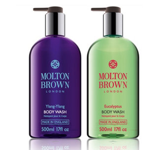 Molton Brown Entice & Tempt 500ml Bath & Shower Gel Duo - 230855