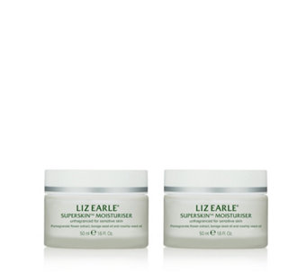 Liz Earle Superskin Moisturiser 50ml Duo - 231556