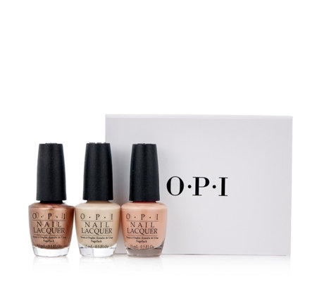 OPI 3 Piece California Dreaming Nudes Collection
