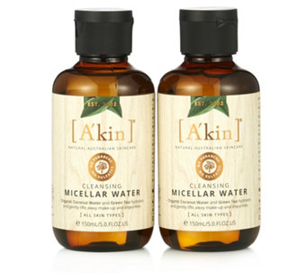 A'kin Cleansing Micellar Water Duo 150ml - 233257