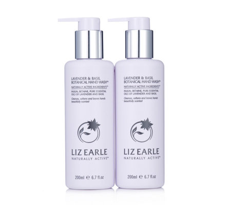 Liz Earle Lavender & Basil Hand Wash Duo 200ml
