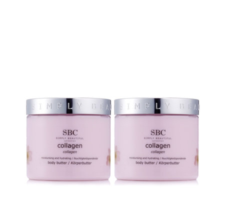 SBC Collagen Body Butter Duo 450ml