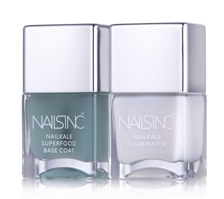 Nails Inc Nailkale Basecoat & Nailkale Illuminator