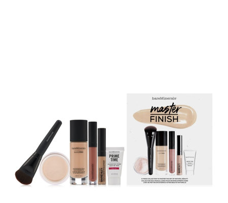 bareMinerals 6 Piece Master Finish BarePro Make-up Collection