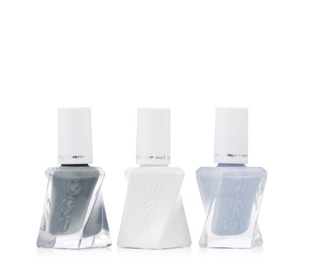 Essie 3 Piece Gel Couture Pure Elegance Collection