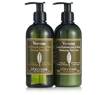 L'Occitane Verbena Cleansing Hand Soap & Lotion