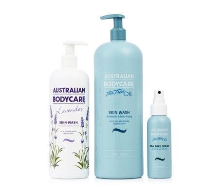 Australian Bodycare 3 Piece Tea Tree Collection