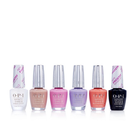 OPI 6 Piece Infinite Shine Summer Collection