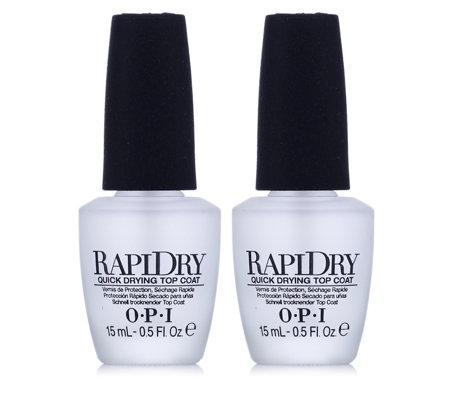OPI Rapid Dry Top Coat Duo