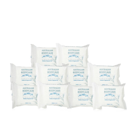 Australian Bodycare 10 Pack of 24 Wet Wipes