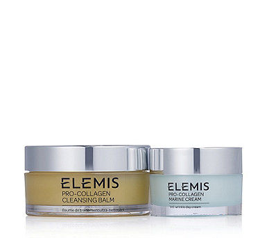 Elemis Pro-Collagen Cleansing Balm & Marine Cream Anti-Ageing Duo - 232966