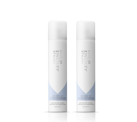 Philip Kingsley One More Day Dry Shampoo 200ml Duo